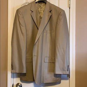 48R Tan Chaps Suit Coat